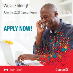 Statistics Canada hiring notice.