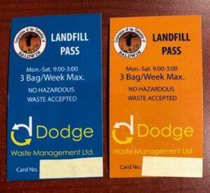 Landfill Passes